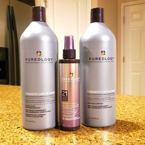 Pureology Strength Cure Blonde 1lr Leave in Spray